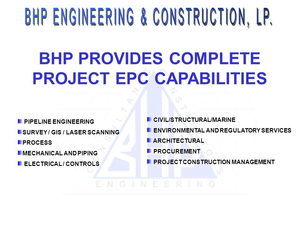 PROJECT EPC CAPABILITIES