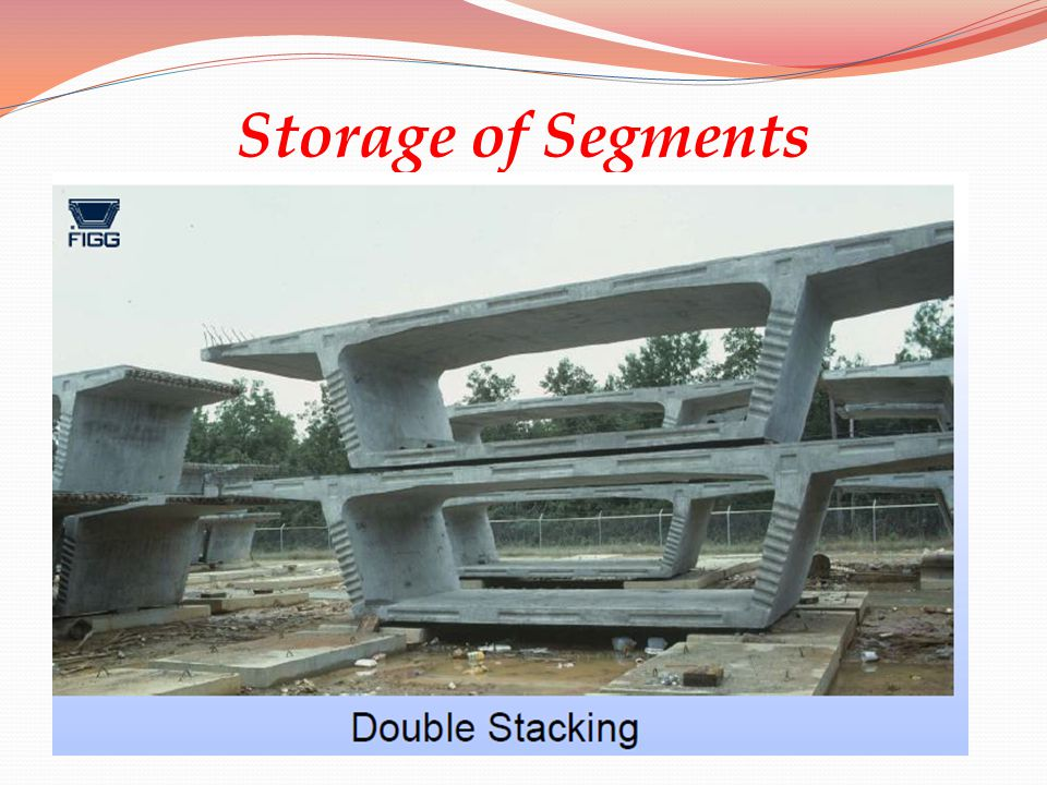 Storage of Segments