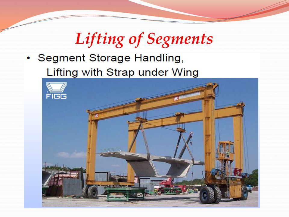 Lifting of Segments