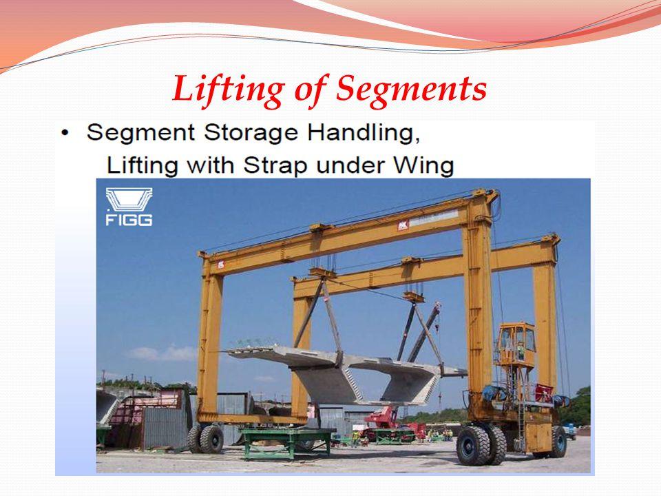 Lifting of Segments