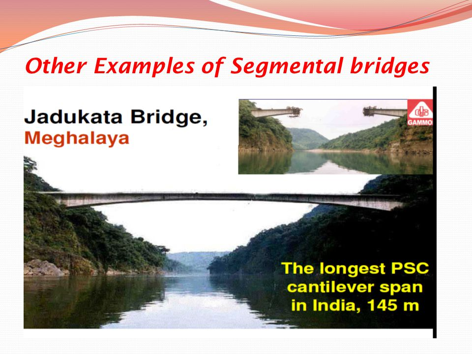 Other Examples of Segmental bridges