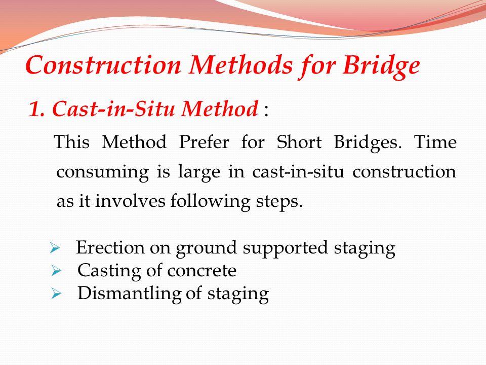 Construction Methods for Bridge