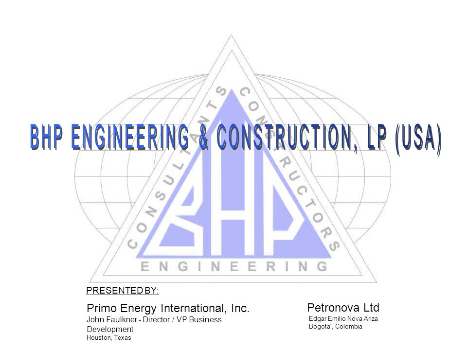BHP ENGINEERING & CONSTRUCTION, LP (USA)