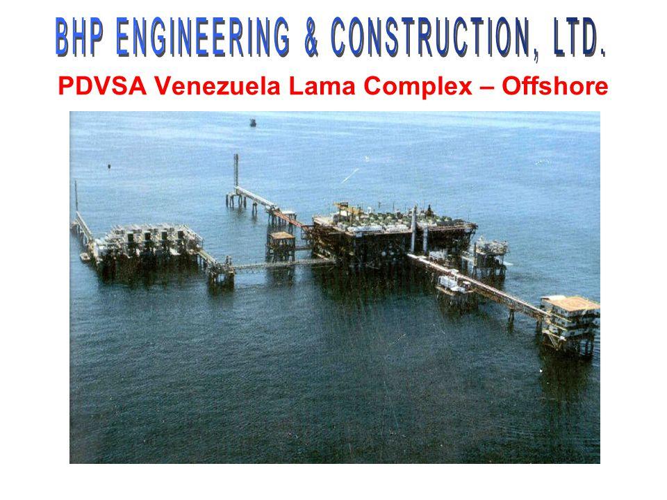 PDVSA Venezuela Lama Complex – Offshore