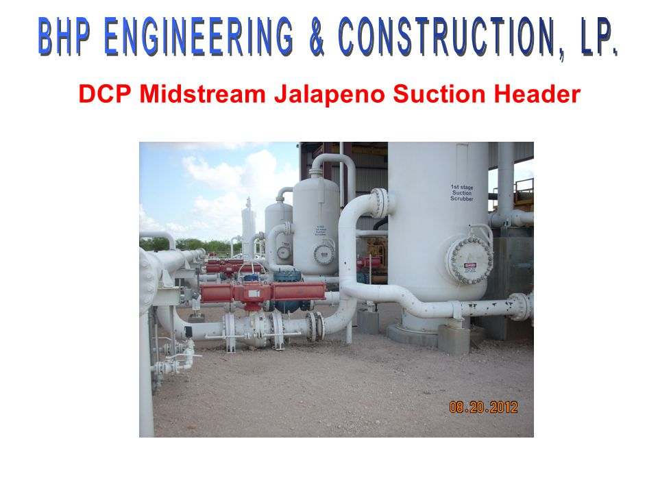 DCP Midstream Jalapeno Suction Header