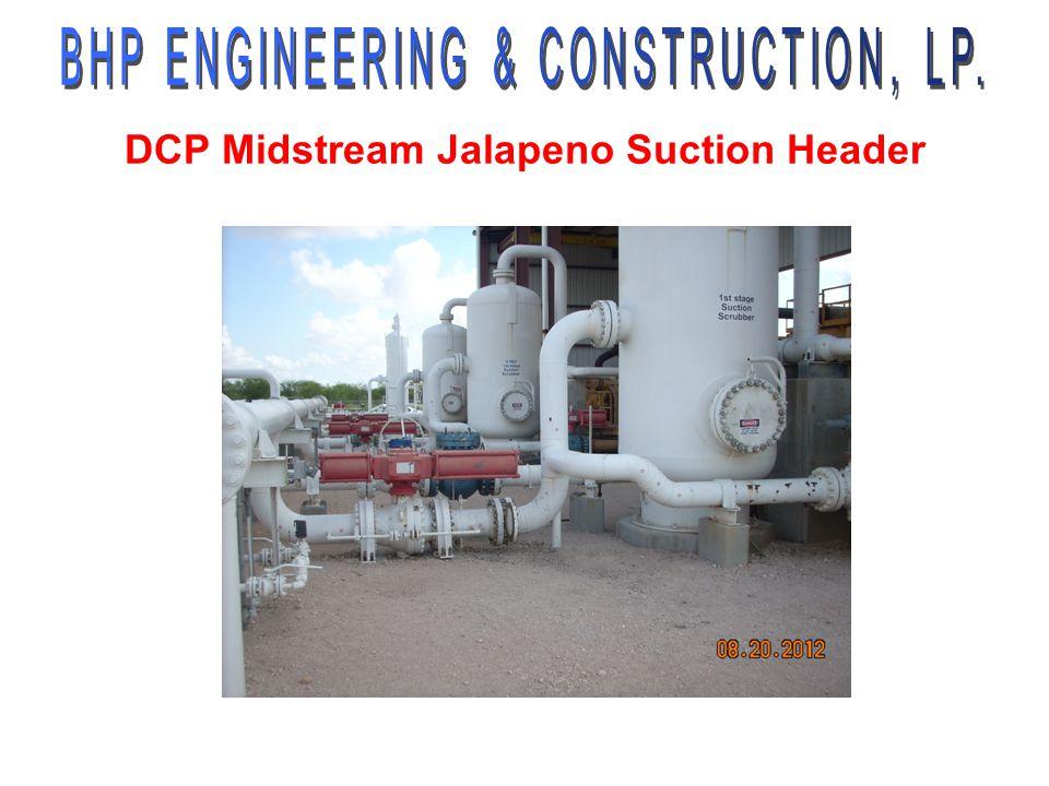 DCP Midstream Jalapeno Suction Header