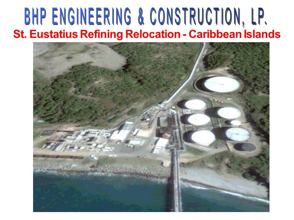 St. Eustatius Refining Relocation - Caribbean Islands