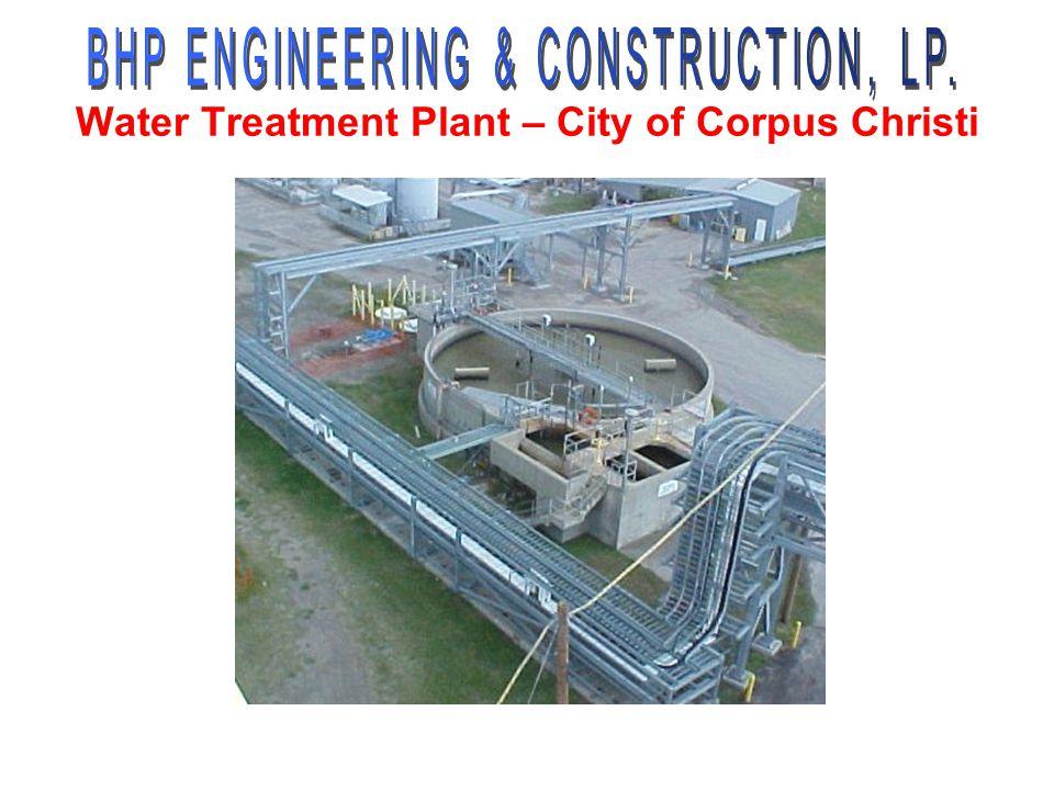 Water Treatment Plant – City of Corpus Christi