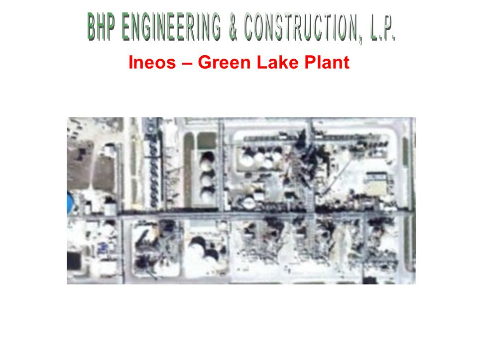 Ineos – Green Lake Plant