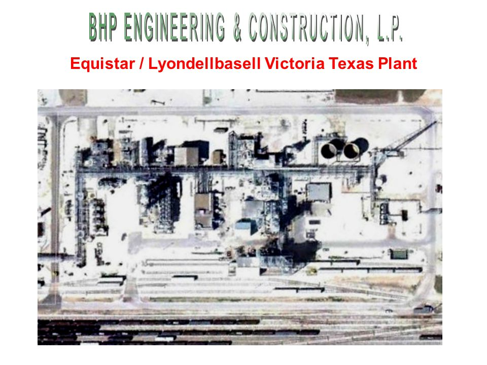 Equistar / Lyondellbasell Victoria Texas Plant