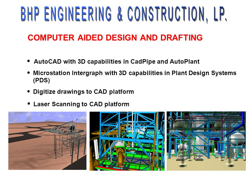 COMPUTER AIDED DESIGN AND DRAFTING