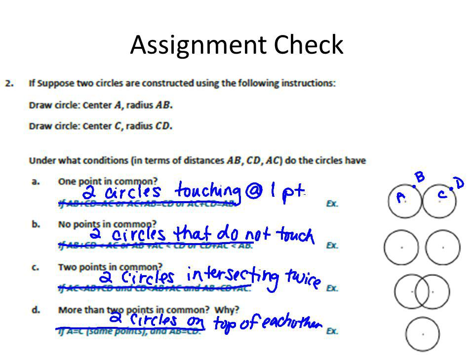 Assignment Check