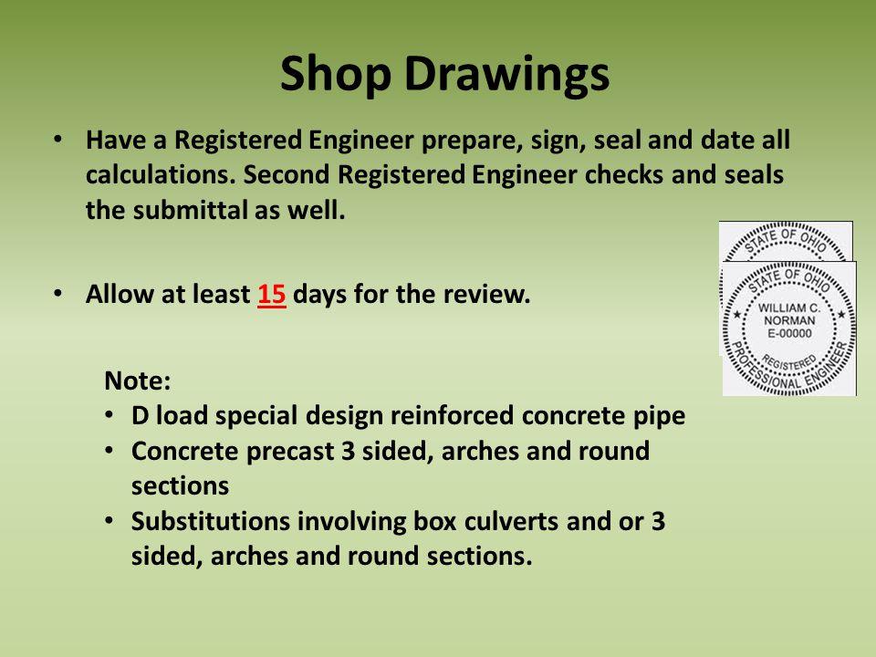 Shop Drawings