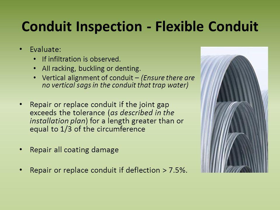 Conduit Inspection - Flexible Conduit