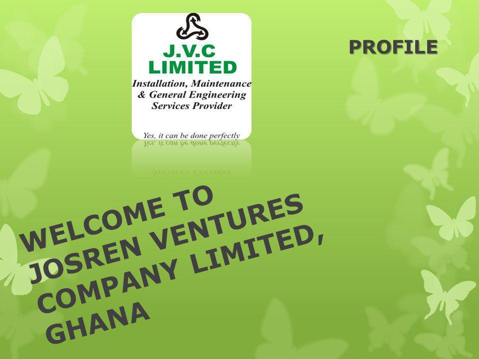 WELCOME TO JOSREN VENTURES COMPANY LIMITED, GHANA