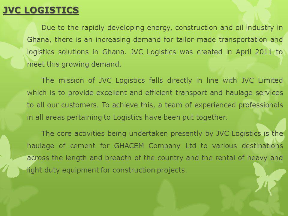 JVC LOGISTICS