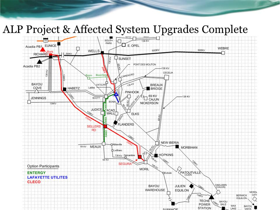 ALP Project & Affected System Upgrades Complete