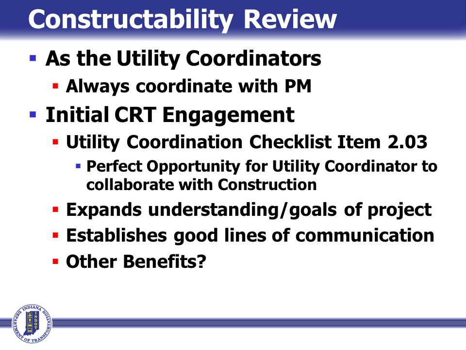 Constructability Review