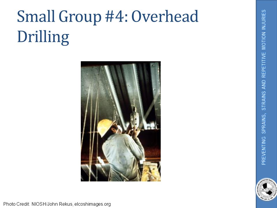 Small Group #4: Overhead Drilling