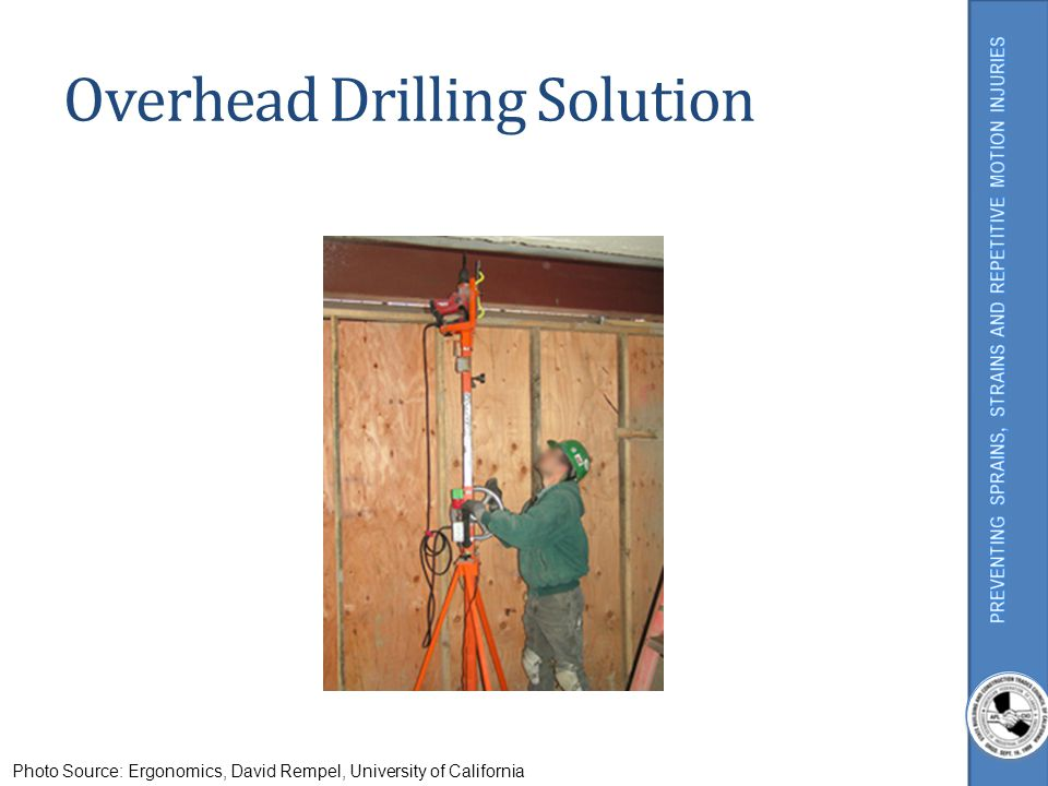Overhead Drilling Solution