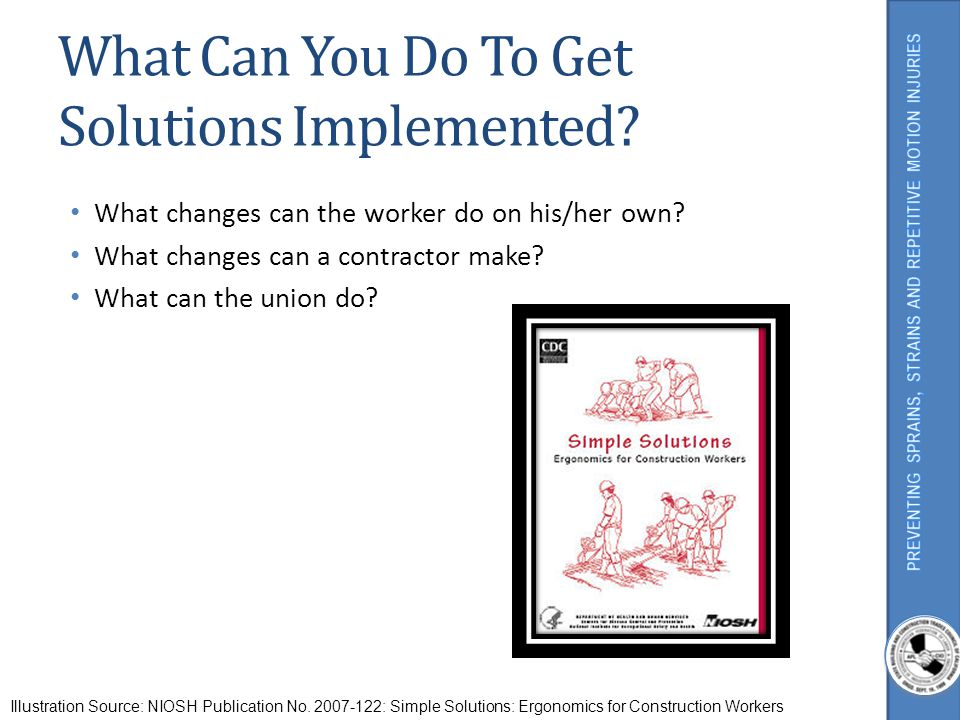 What Can You Do To Get Solutions Implemented