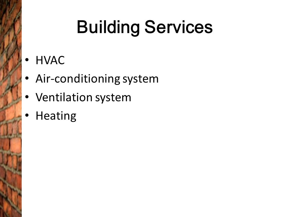 air conditioning system in building pdf