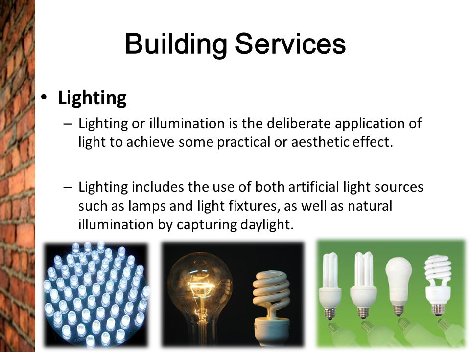 Building Services Lighting