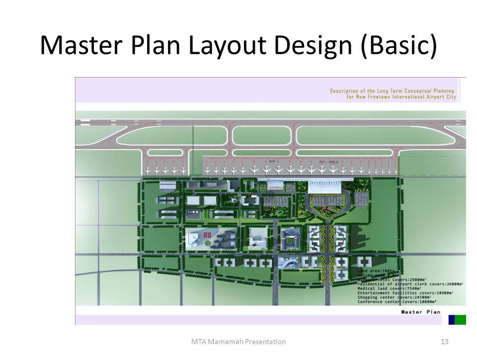 Master Plan Layout Design (Basic)