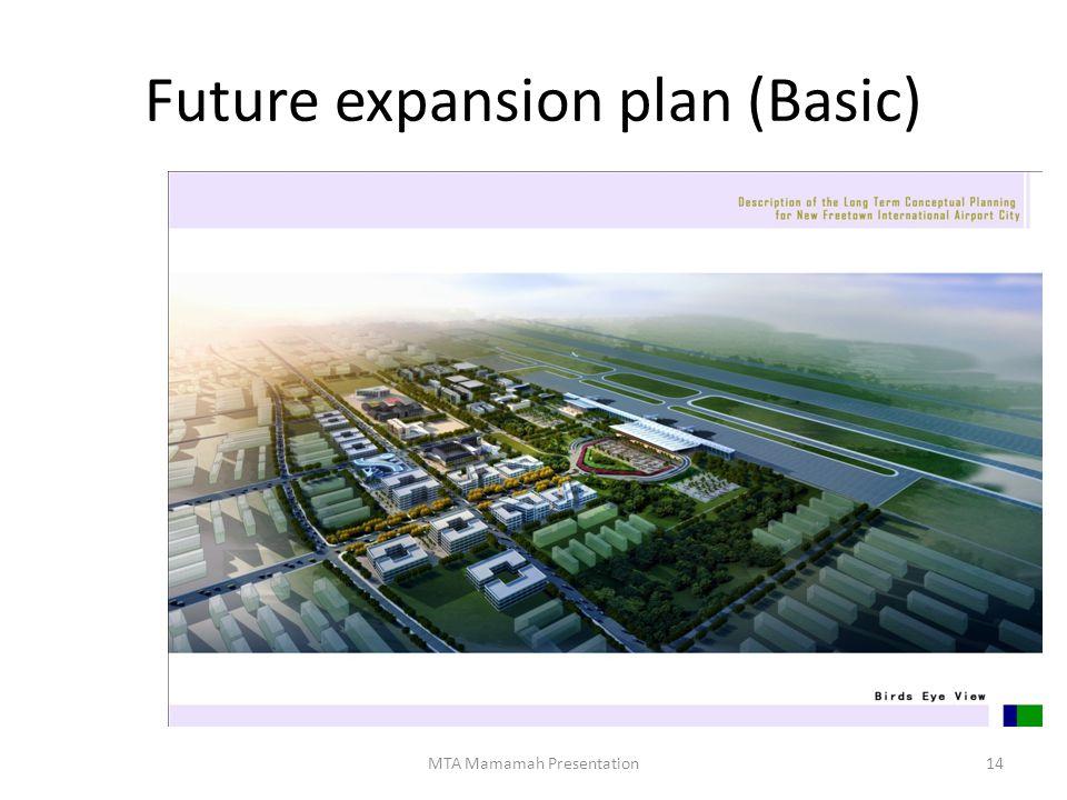 Future expansion plan (Basic)