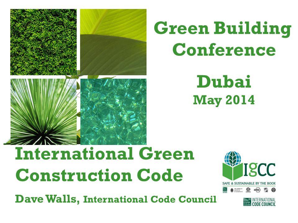 Green Building Conference Dubai