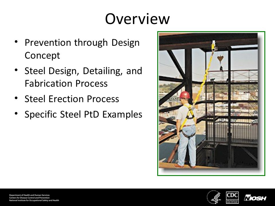 Overview Prevention through Design Concept