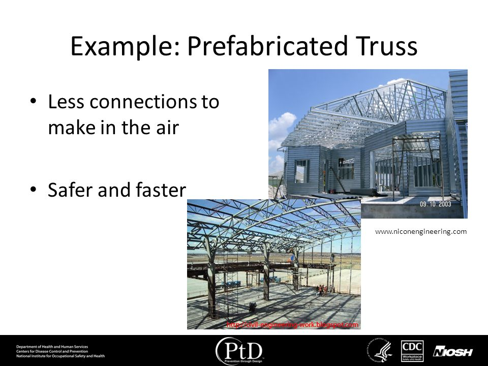 Example: Prefabricated Truss