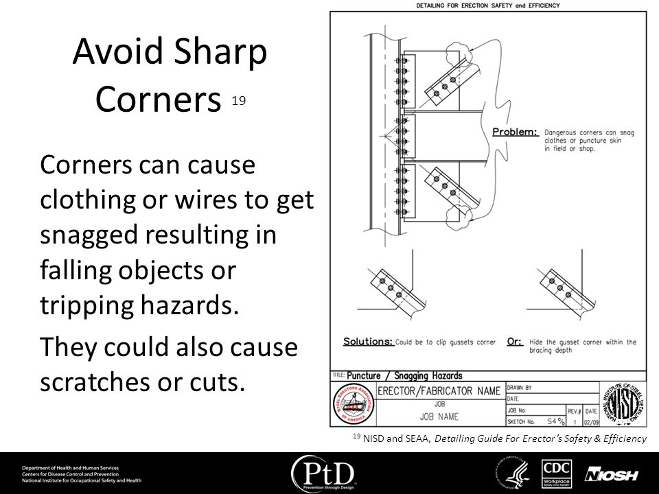 Avoid Sharp Corners 19