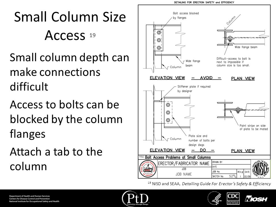 Small Column Size Access 19