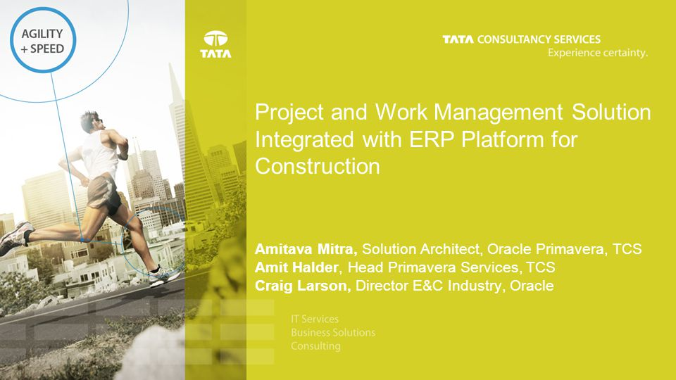 Project and Work Management Solution Integrated with ERP Platform for Construction