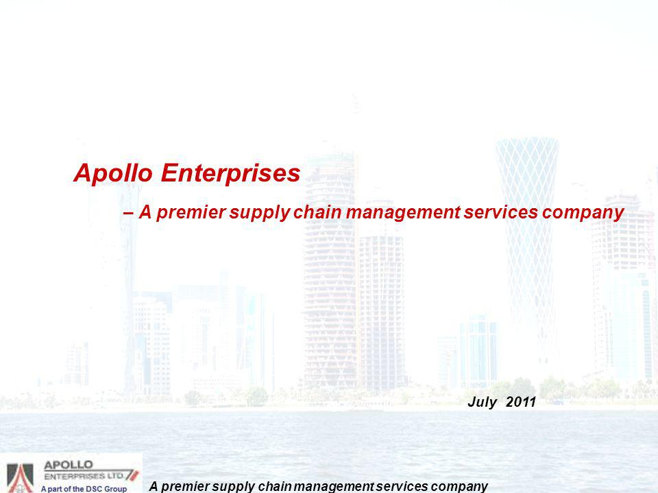 A premier supply chain management services company