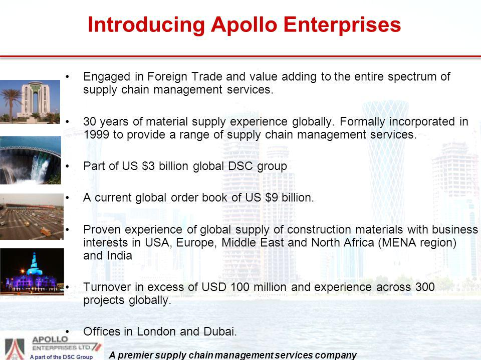 Introducing Apollo Enterprises
