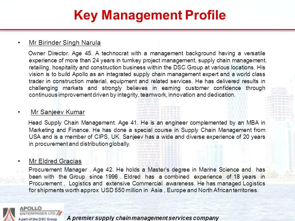 Key Management Profile