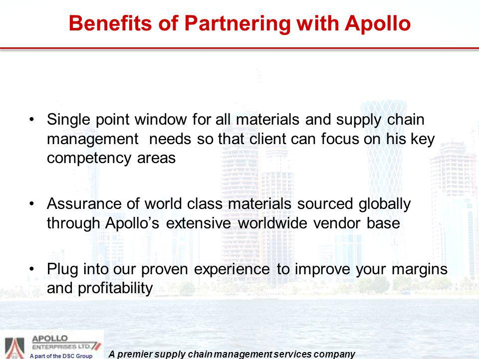 Benefits of Partnering with Apollo