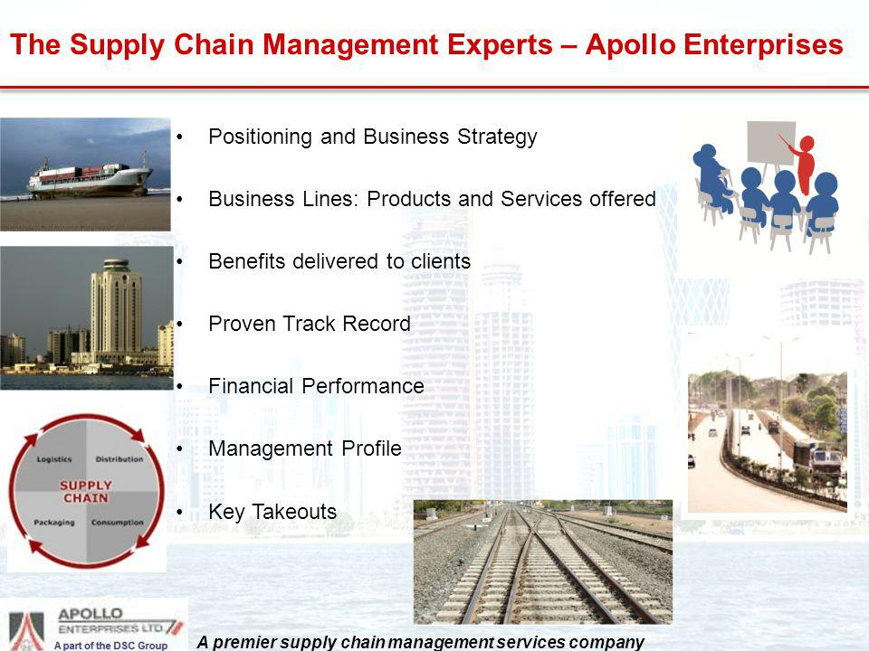 The Supply Chain Management Experts – Apollo Enterprises