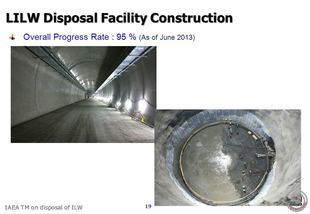 LILW Disposal Facility Construction