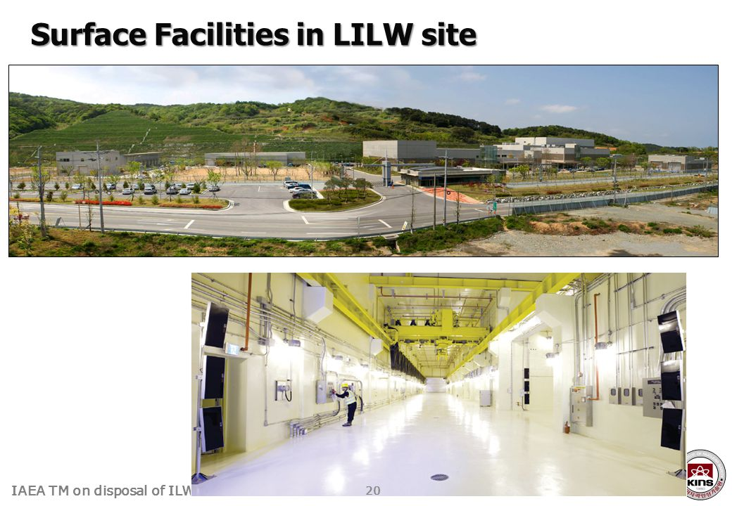 Surface Facilities in LILW site
