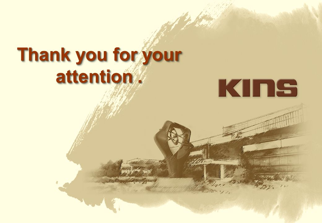 Thank you for your attention .