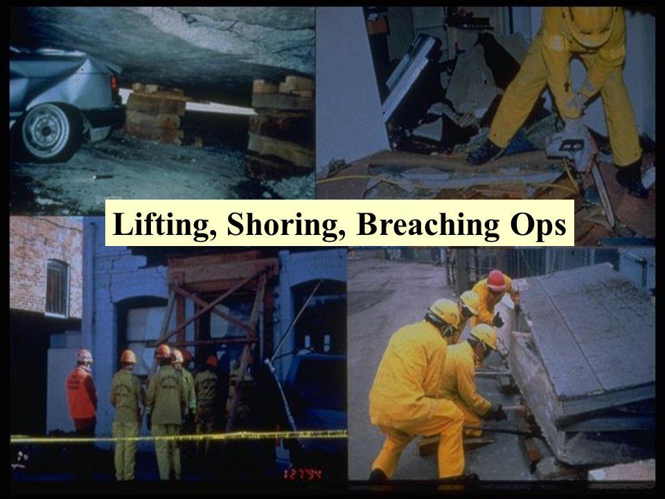Lifting, Shoring, Breaching Ops