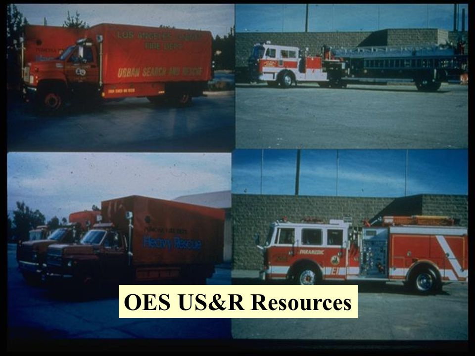 OES US&R Resources