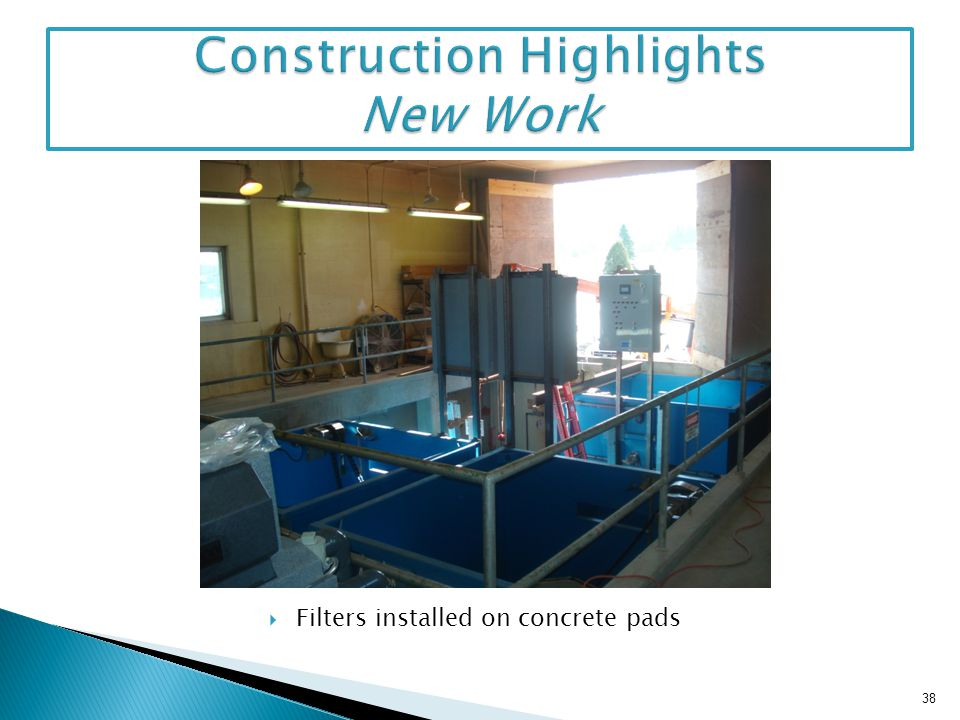 Construction Highlights New Work