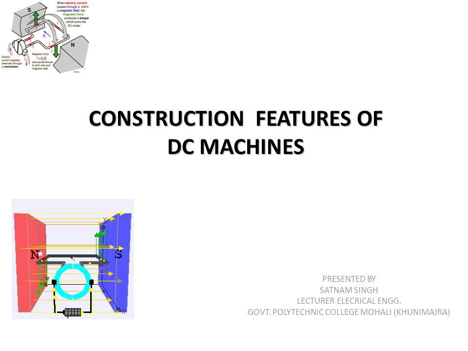 CONSTRUCTION FEATURES OF