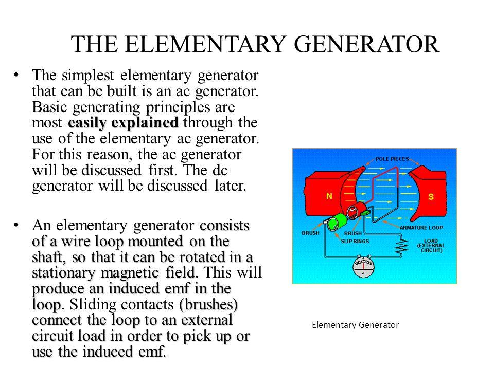 THE ELEMENTARY GENERATOR