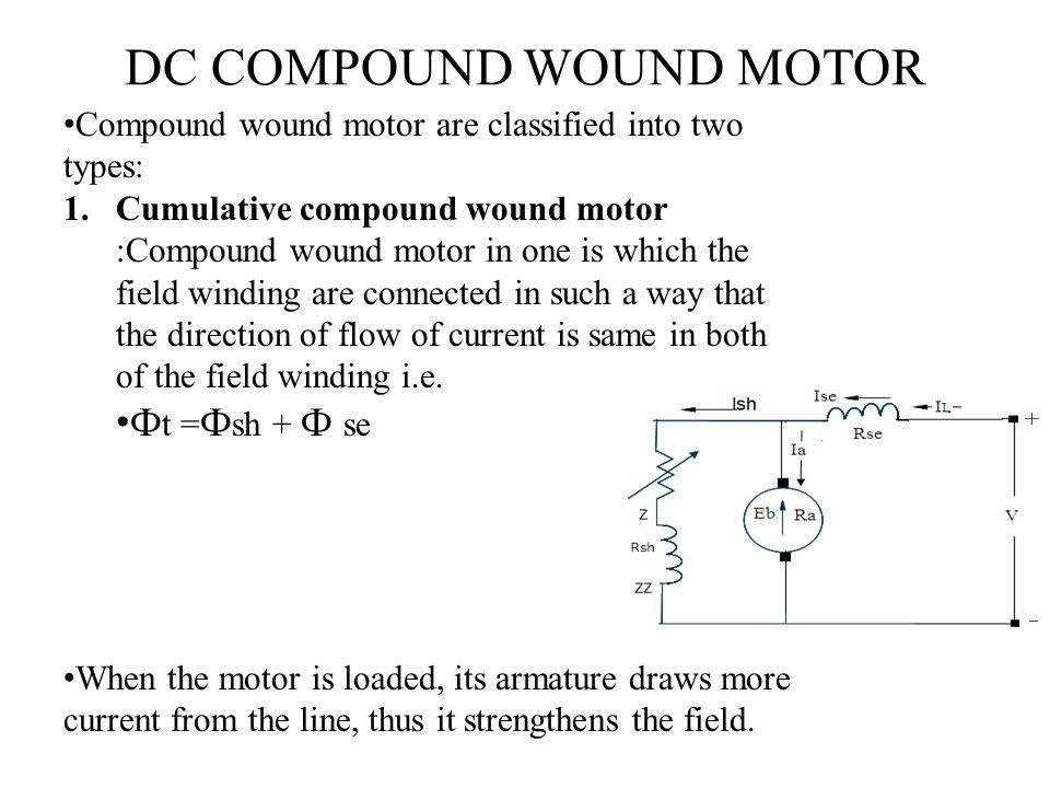 DC COMPOUND WOUND MOTOR