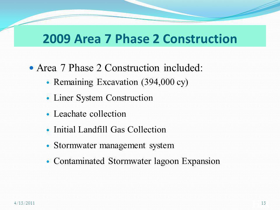 2009 Area 7 Phase 2 Construction